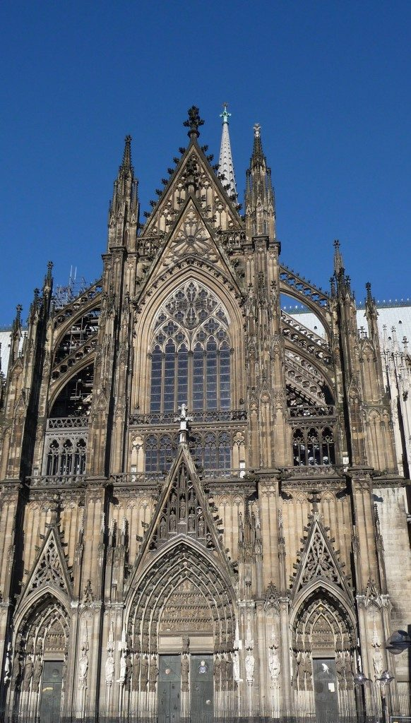 Kölner Dom - Cologne Cathedral side view - Katedra Kolonska - photo by Marek Seyda.jpg